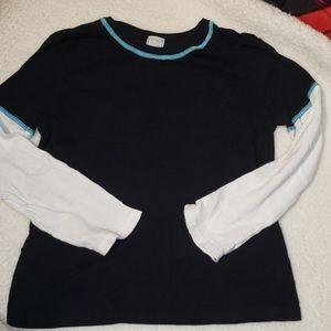 Old Navy Layered Long Sleeve Shirt